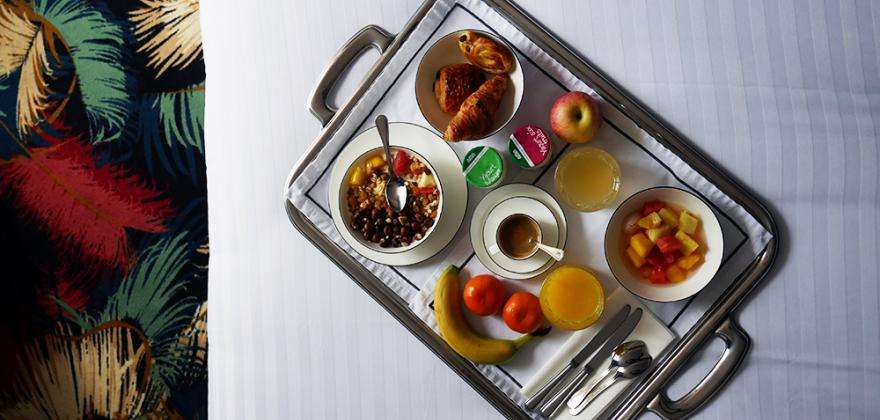Let yourself be pampered at breakfast!