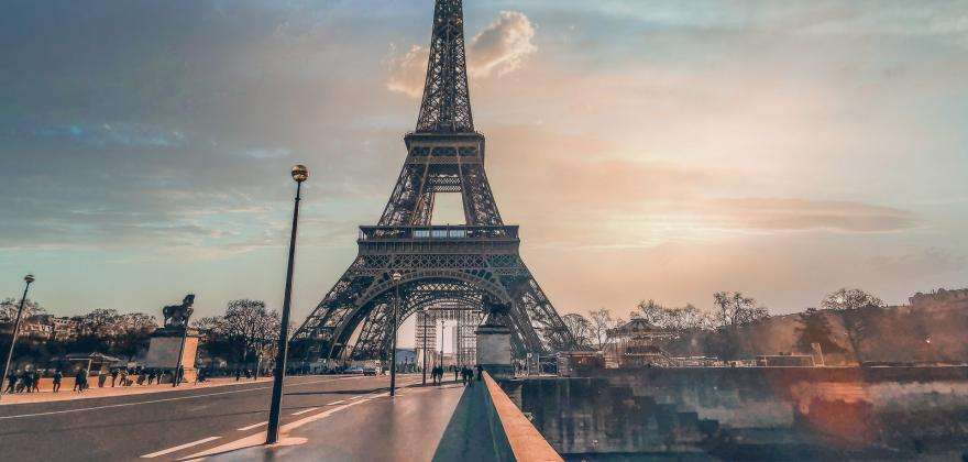 The Eiffel Tower gets a makeover