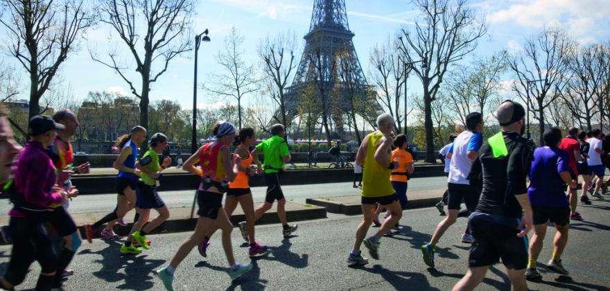 Nouvelle édition du Marathon de Paris