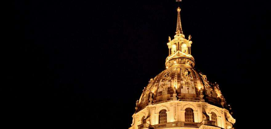 A colourful encounter with history: a Night at the Invalides